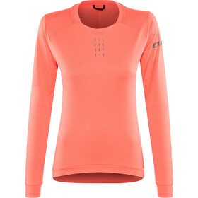 Cube AM Round Neck Jersey longsleeve Women coral
